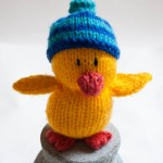 Small Knitted Duckling