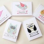 Little bird Card set