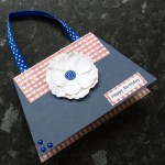 Patriotic Team GB handbag card