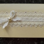 Bespoke Wedding Acceptance Card