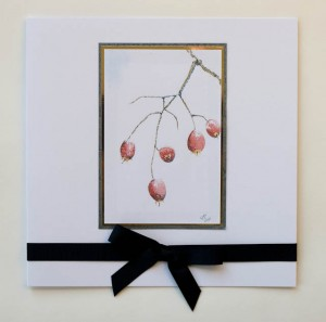 Winter Berried Christmas Card