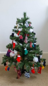 Christmas Tree Decoration Display