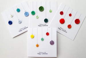 Button Bauble Cards