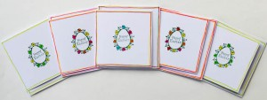 Stamped Happy Easter cards