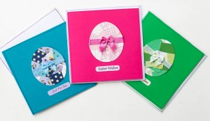 Collage Easter Egg Cards
