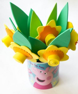 Fun foam daffodils