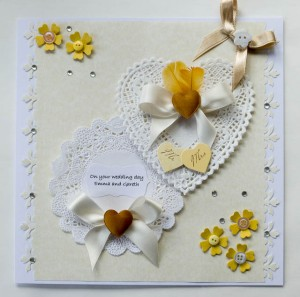 Commission Wedding Card