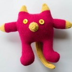 Pink and Yellow Cat