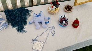 Entries for the knitting and crochet class