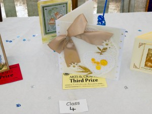 Third Prize for Handmade card