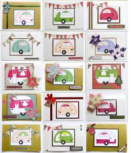 Caravan Christmas Cards