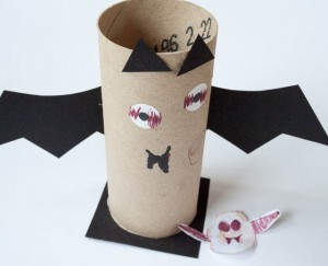Bat pencil pot