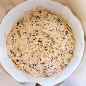 Christmas Cake mixed