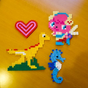Hama bead makes