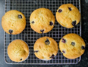 Blueberry and Banana Buns