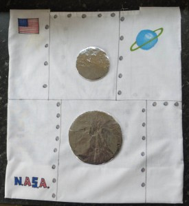 Space Rocket front panel