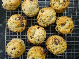 Chocolate Raisin Scones