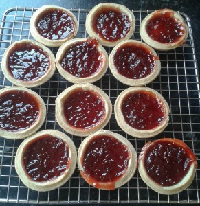 Strawberry Jam Tarts