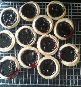 Blackcurrant Jam Tarts