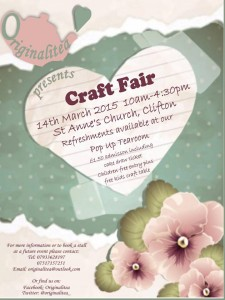 Craft Fair flyer